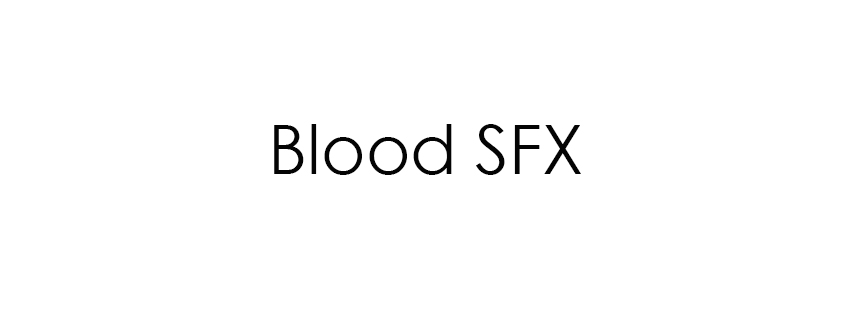 Blood SFX
