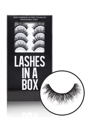 Lashes In A Box 20 Piece Eyelash Set 3D Collection 210063