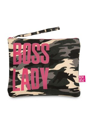 Carolyn K Boss Lady Makeup Bag Camouflage 210701