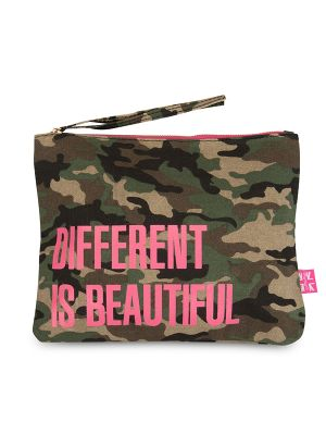 Carolyn K Different is Beautiful Makeup Bag Camouflage 212680