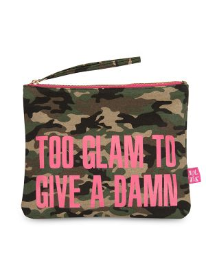 Carolyn K Too Glam Makeup Bag Camouflage 212677