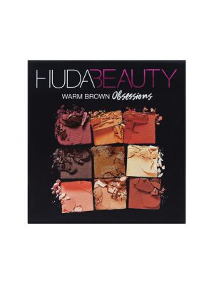 Huda Beauty Obsessions Palette Warm Brown 212011