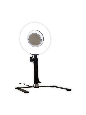 Impressions Vanity 8 Inch LED Ring Light Handheld 212973
