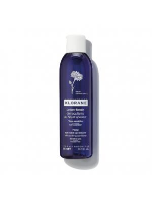 Klorane Floral Lotion Eye Make-up Remover with Soothing Cornflower 6.76 oz 106333