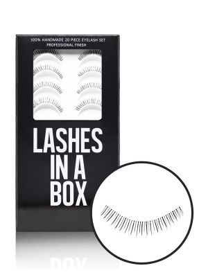 Lashes In A Box 20 Piece Lower Lash Set 212428