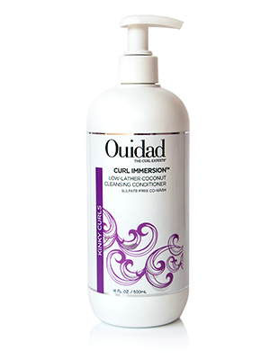 Ouidad Curl Immersion Low-Lather Coconut Cleansing Conditioner 16oz 207028