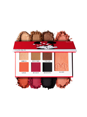 Dose of Colors Minnie Mouse Eyeshadow + Blush palette 214165